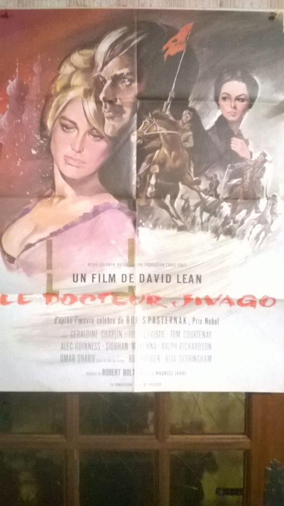 Affiche de cinéma : Le docteur Jivago 8 Marle (02)