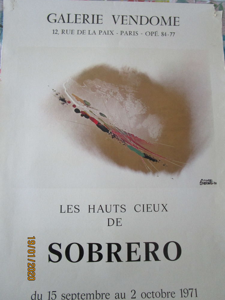 affiche exposition sobrero 5 Chanteloup-en-Brie (77)