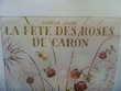 Affiche la Fêtes des roses De Caron Meubles