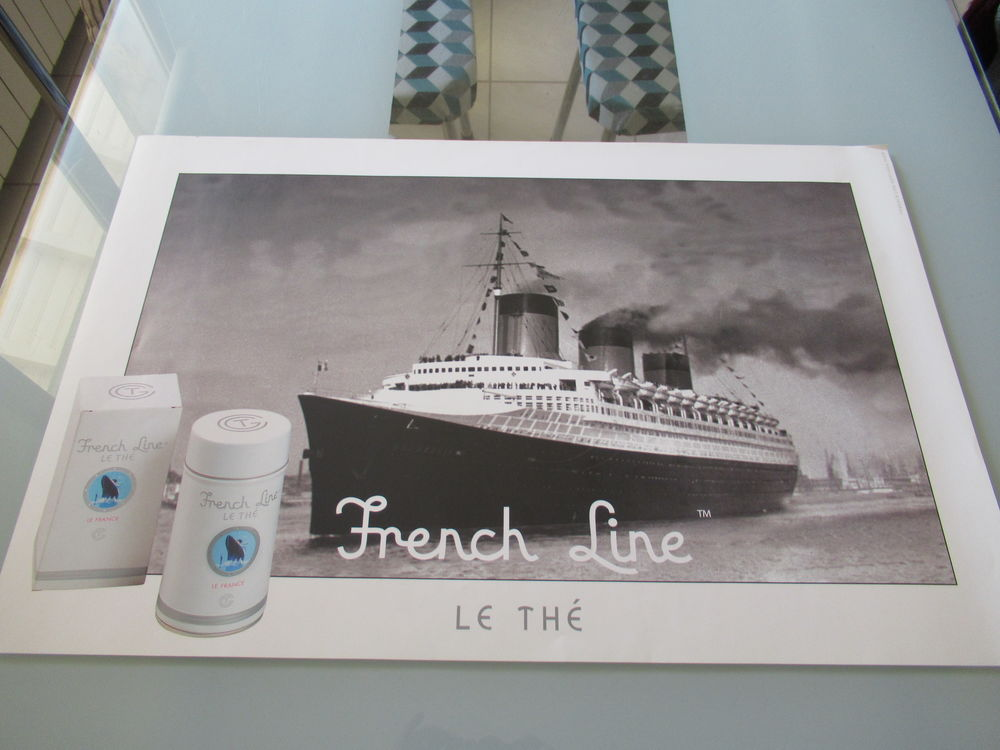 AFFICHE FRENCH LINE 4 Limay (78)