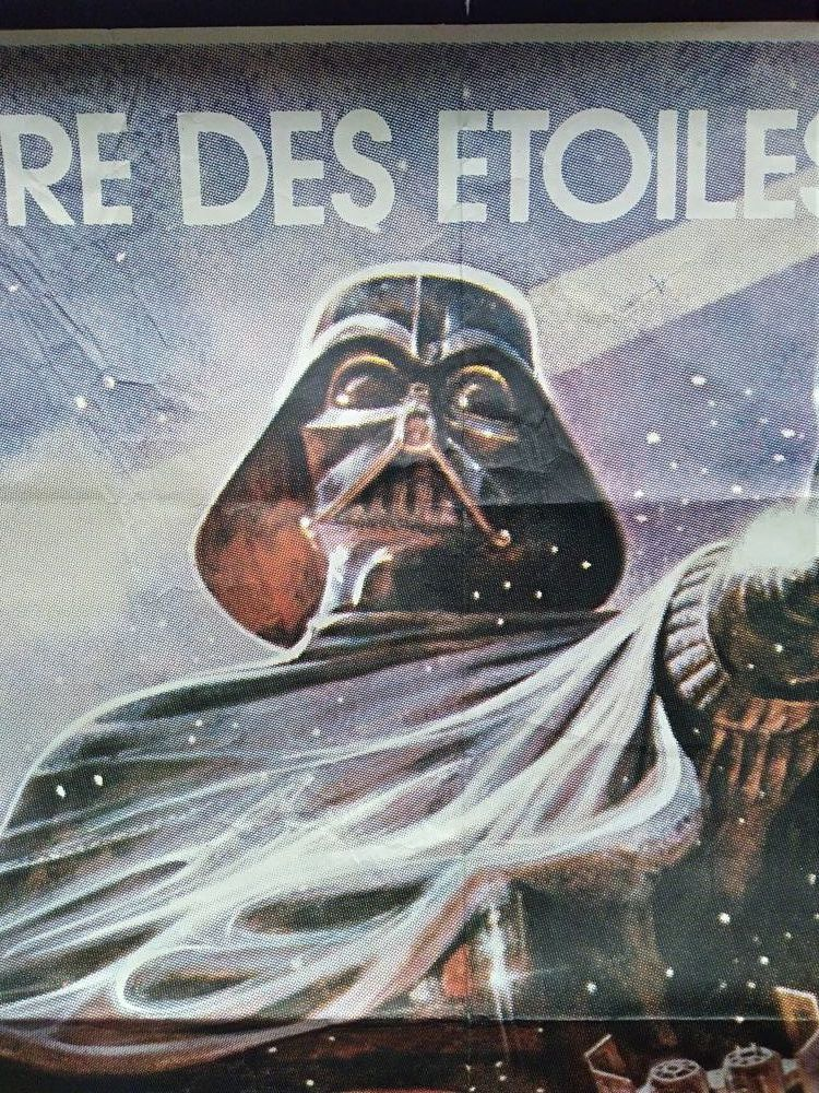 Affiche original cinema star wars de 1980 a deb 200 Saint-Brieuc (22)