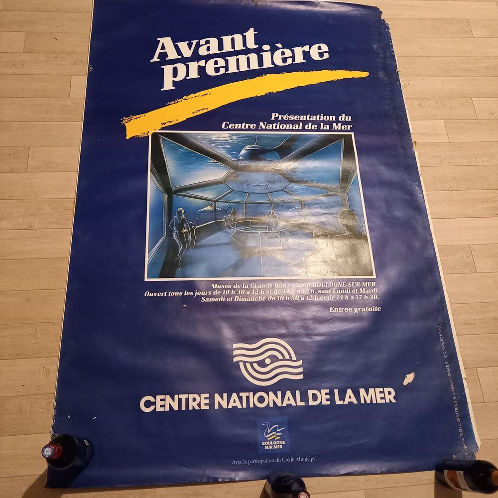 Affiche présentation Nausicaá - Centre national de la Mer, B 40 Saumur (49)