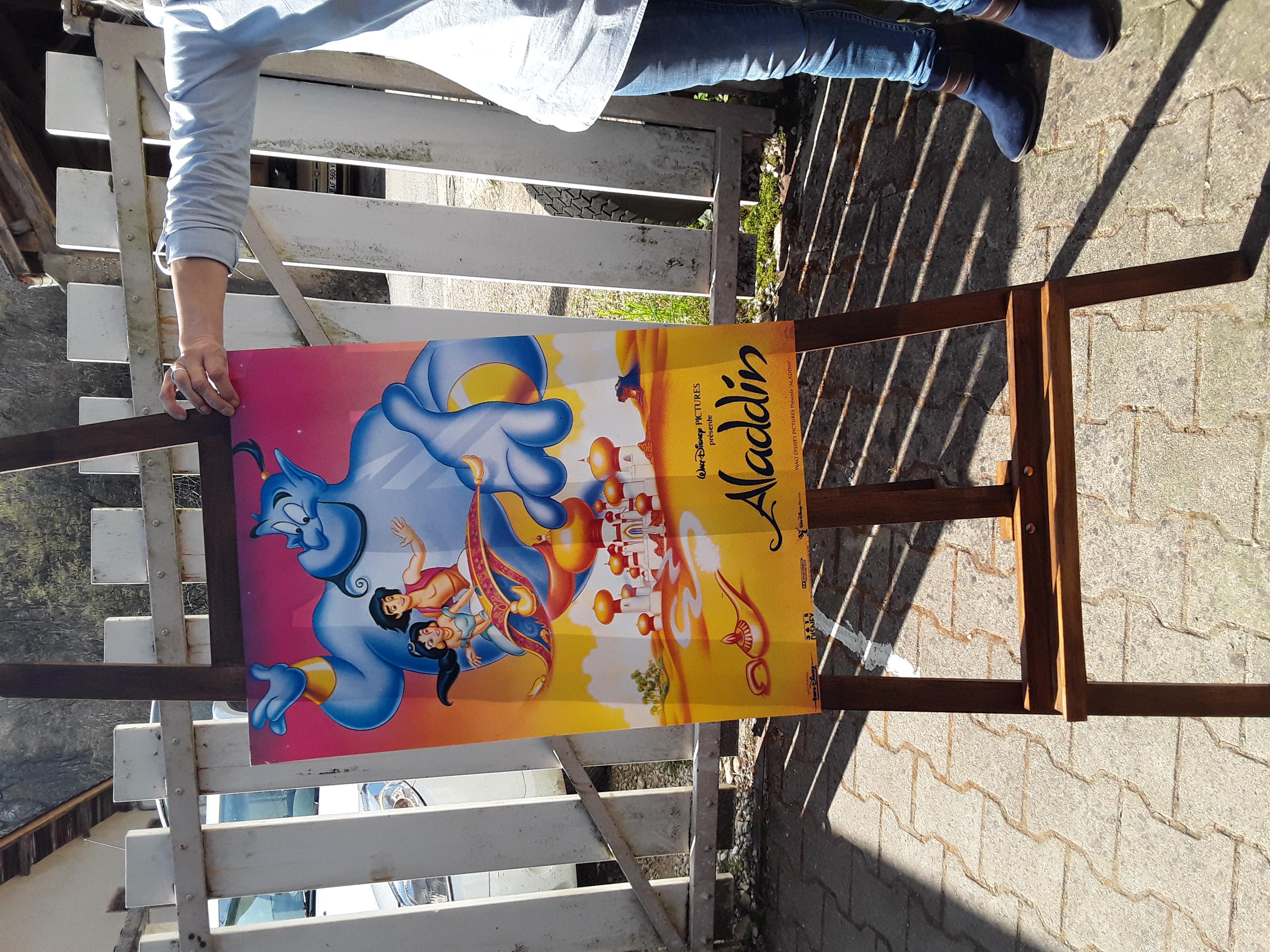 AFFICHES  poster 50X70 cm  musique dessins animes etc  3 Neuville-sur-Ain (01)