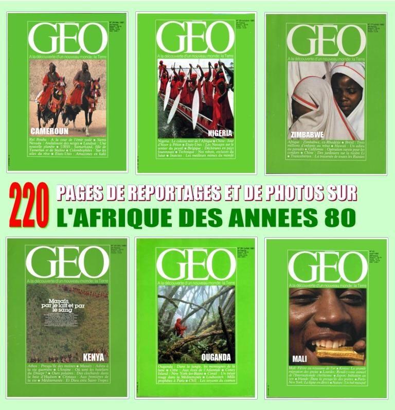 AFRIQUE DES ANNÉES 80 / prixportcompris 18 Strasbourg (67)