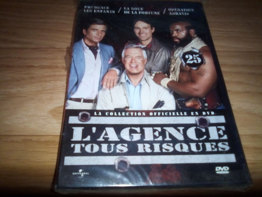 L'AGENCE TOUS RISQUES N°25 DVD 5 Annonay (07)