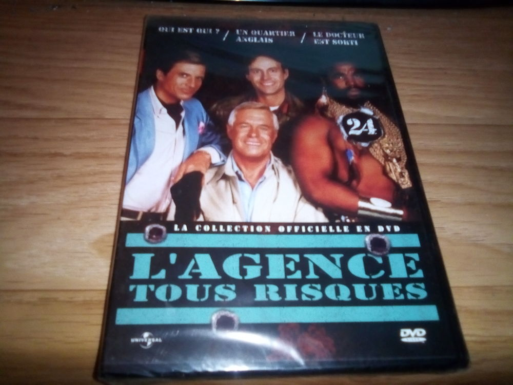 L'AGENCE TOUS RISQUES N°24  5 Annonay (07)