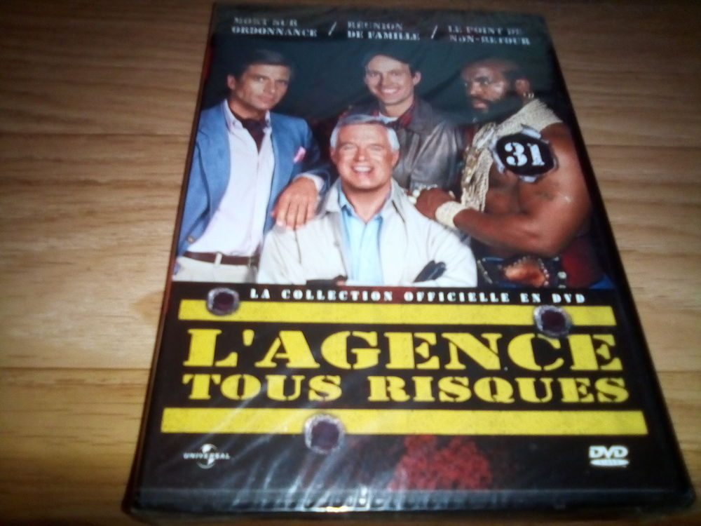 L'AGENCE TOUS RISQUES N°31  5 Annonay (07)