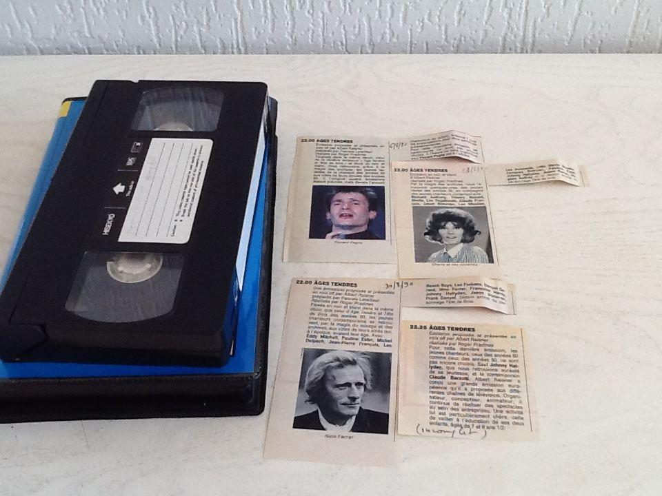 K7 ou DVD AGES TENDRES - Albert RAISNER Photos/Video/TV
