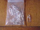 15 agrafes clip cristal D20 - INSPIRE 1 Brouckerque (59)