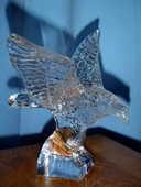 Aigle en Cristal de Sèvres 1er choix 200 Nancy (54)