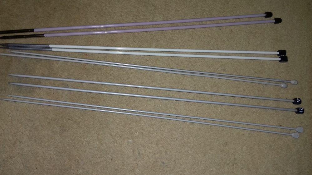 Aiguilles à tricoter  2 Villeurbanne (69)