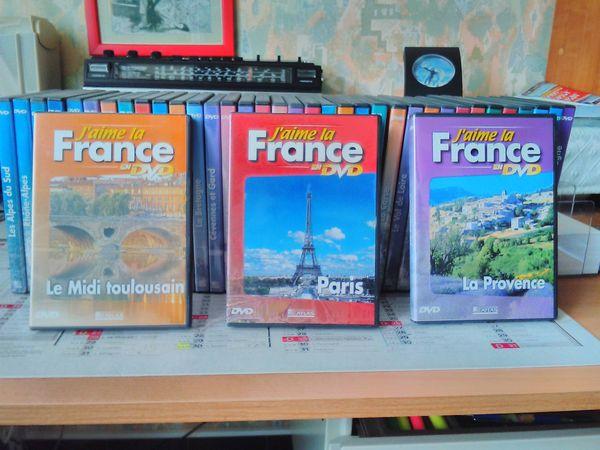 cd j'aime la france :editions atlas CD et vinyles