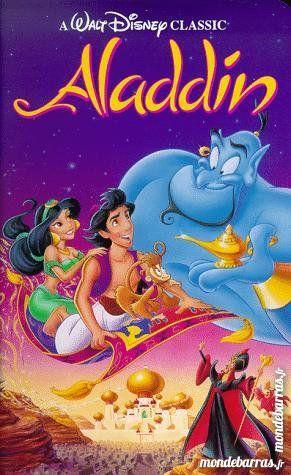 K7 Vhs: Aladdin (175) 6 Saint-Quentin (02)