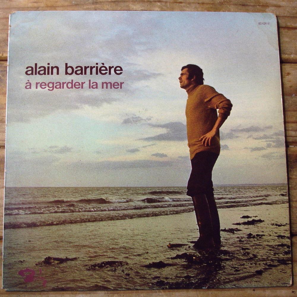 ALAIN BARRIERE - 33t BARCLAY 80424 - A REGARDER LA MER -1970 6 Tourcoing (59)