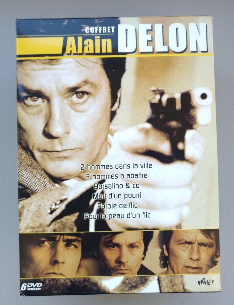 ALAIN DELON coffret 6 dvd 10 Chamalières (63)
