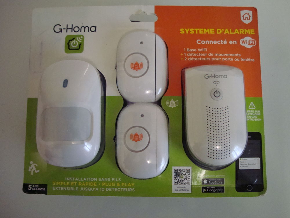 Alarme Wifi G-Homa ,protection,bricolage. 22 Is-sur-Tille (21)
