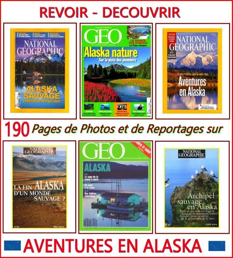 ALASKA - géo - CANADA / prixportcompris Livres et BD