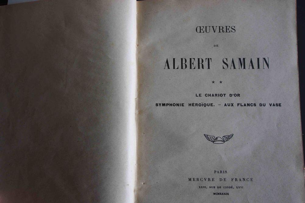 ALBERT SAMAIN - Oeuvres II- 15 Rennes (35)