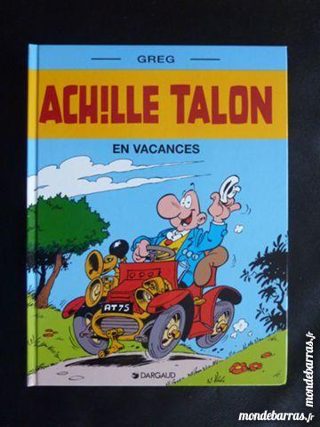 album de bande dessinée ACHILLE TALON en vacances 3 Soissons (02)
