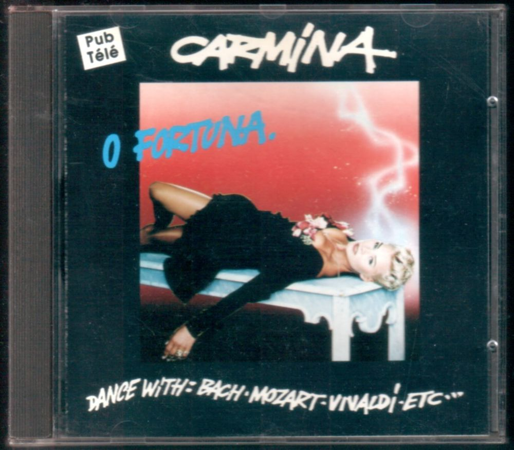 Album CD : Carmina O Fortuna.  3 Tartas (40)