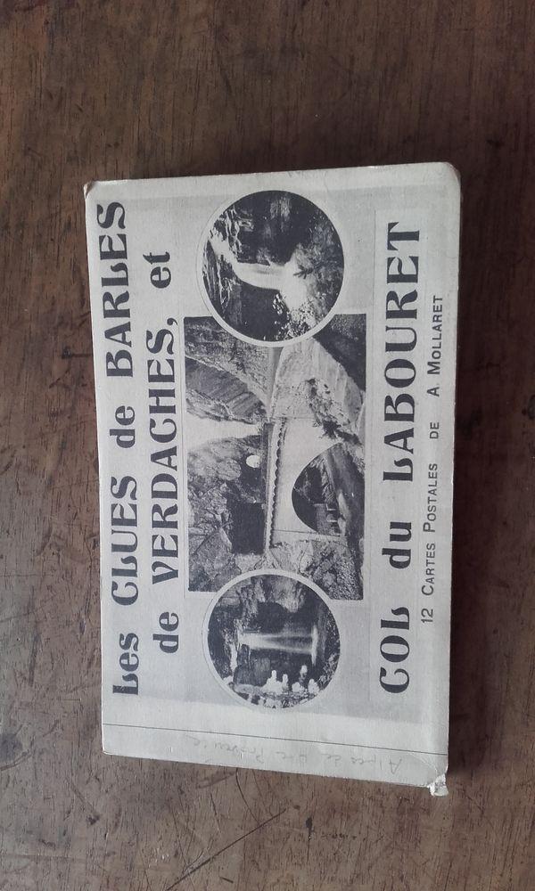Album de 12 cartes postales anciennes ; Alpesde Hte Provence 15 Saint-Martin-de-la-Brasque (84)