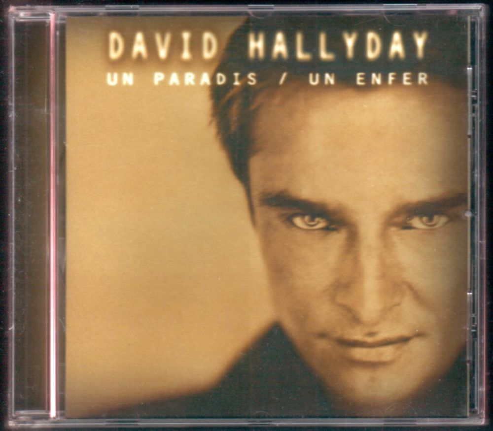 Album CD : David Hallyday - Un paradis / un enfer.  3 Tartas (40)