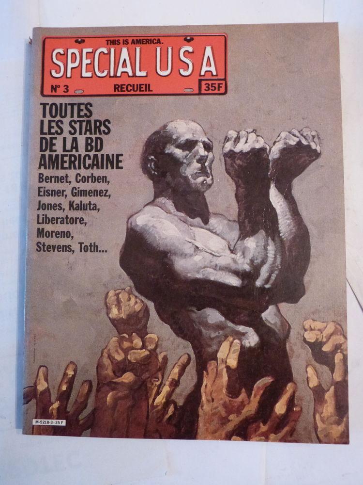 ALBUM ECHO DES SAVANES SPECIAL USA N° 3  bande dessinée 10 Brest (29)