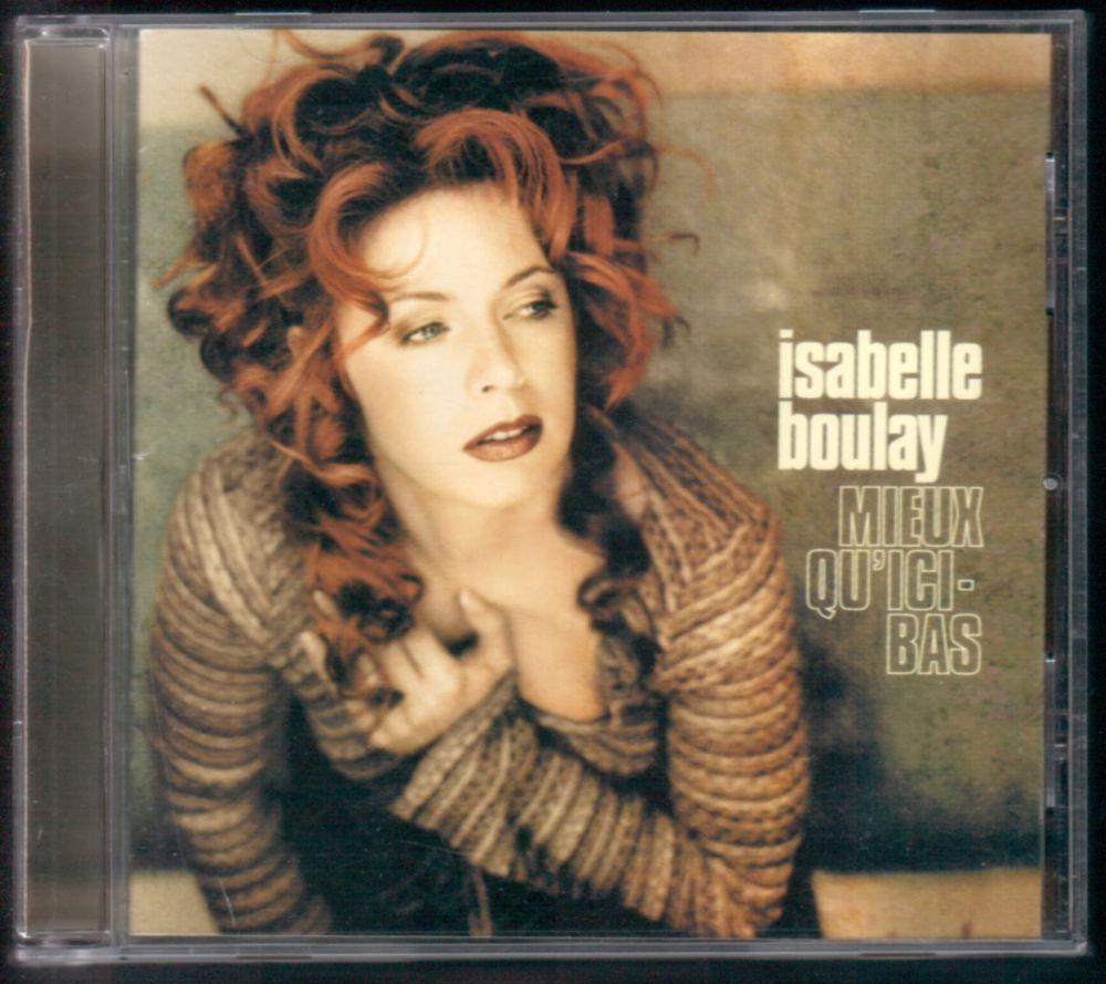 Album CD : Isabelle Boulay - Mieux qu'ici bas.  3 Tartas (40)
