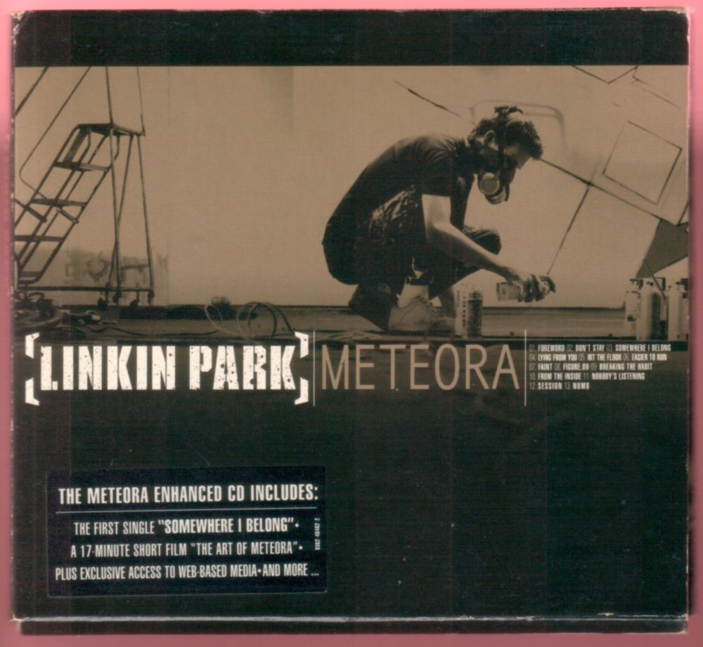 Album CD : Linkin Park - meteora (digipack).  3 Tartas (40)