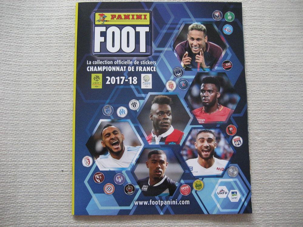 Album PANINI Championnat de France 2017-2018 +15 stickers 5 Reims (51)