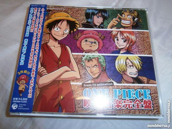 Album OST One Piece série CD et vinyles