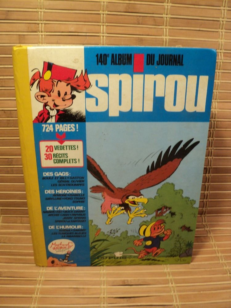 BD Album SPIROU Reliure N° 140 40 Loches (37)