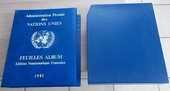 Album de timbres - Administration Postale des N.U 40 Salignac (33)