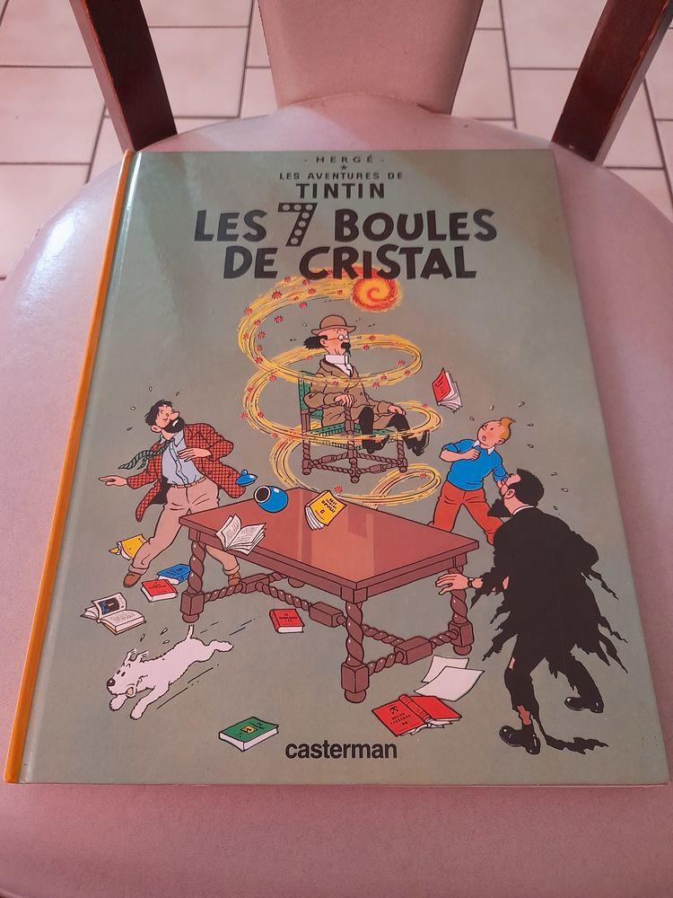 Album de tintin les 7 boucles de cristal dev1974 20 Marcigny (71)