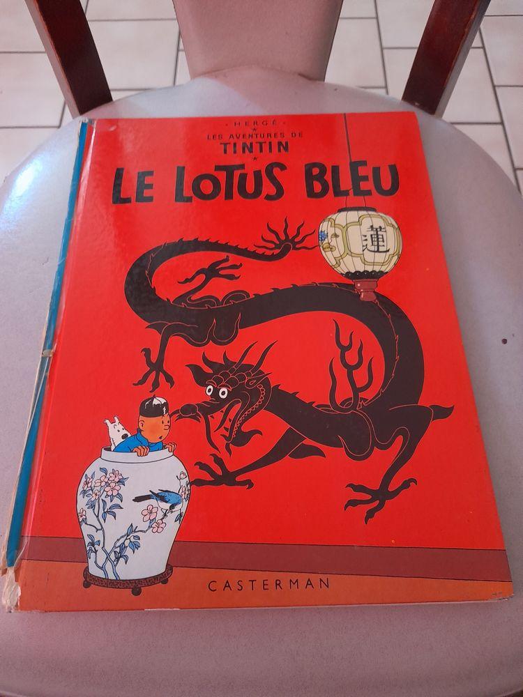 Album de tintin le lotus bleu de 1986 60 Marcigny (71)