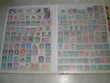3 albums de 1850 timbres tous différents et de divers pays