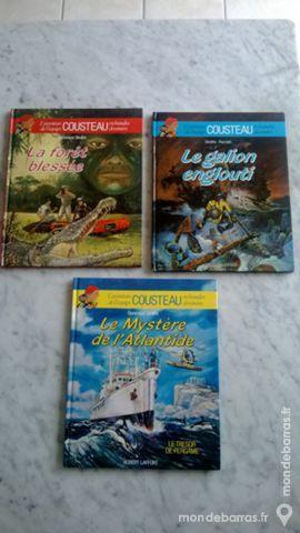 Albums de L'aventure de l'équipe COUSTEAU 1 Craponne (69)