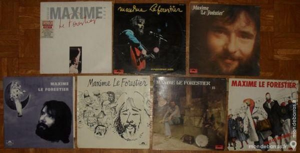 7 albums vinyl 33 tours de Maxime Le Forestier 60 Montreuil (93)