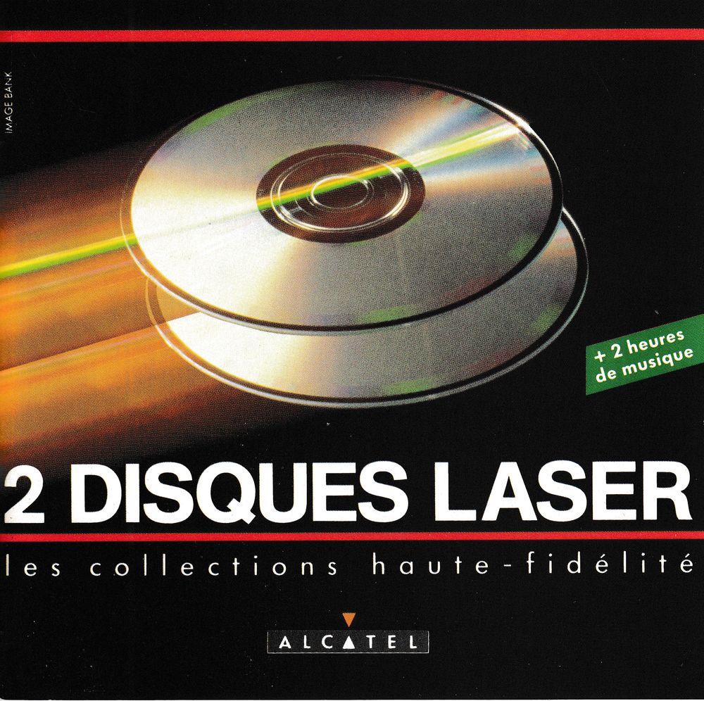 CD Alcatel 2 Disc Laser Collections Haute-Fidélité Objet Pub 15 Bagnolet (93)