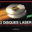 CD Alcatel 2 Disc Laser Collections Haute-Fidélité Objet Pub Bagnolet (93)