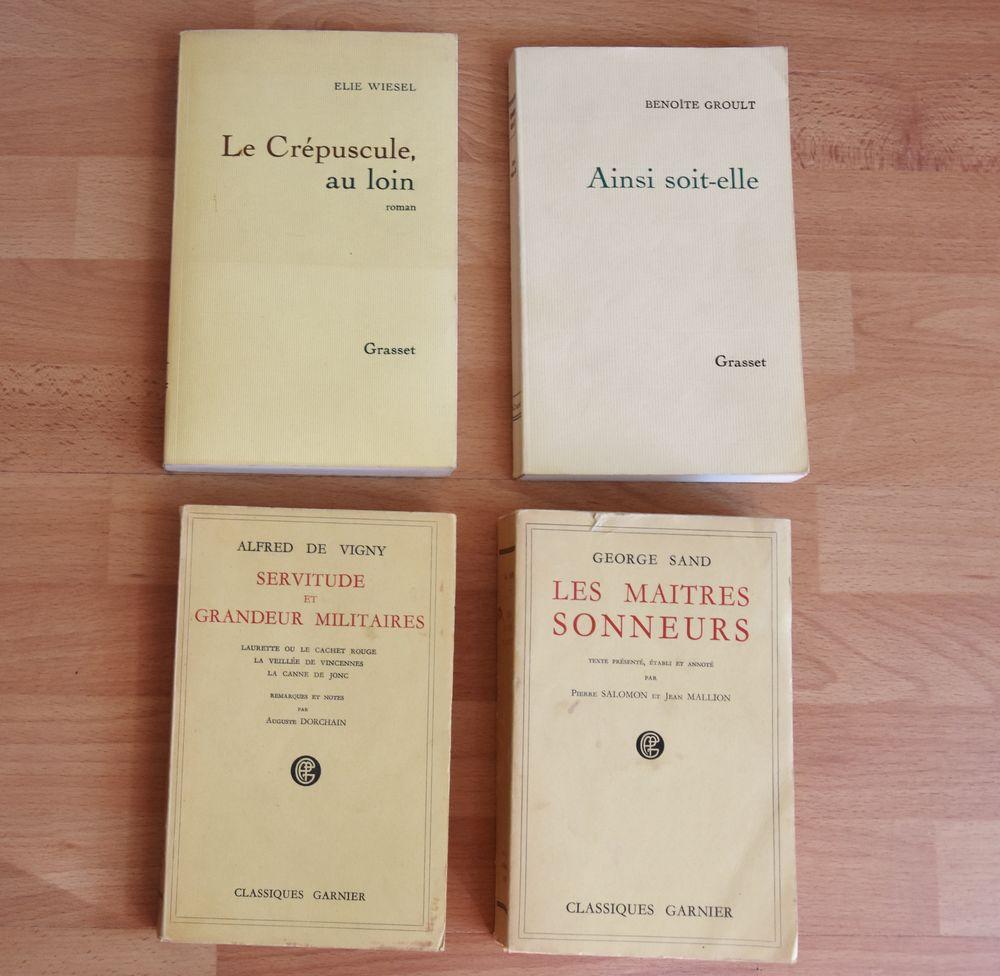 Alfred de Vigny.  Benoîte Groult. George Sand. Elie Wiesel 5 Gujan-Mestras (33)