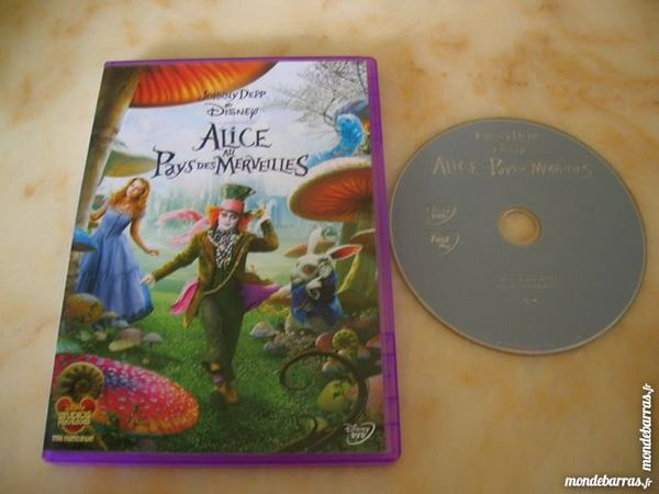 DVD ALICE AU PAYS DES MERVEILLES - TIM BURTON 9 Nantes (44)