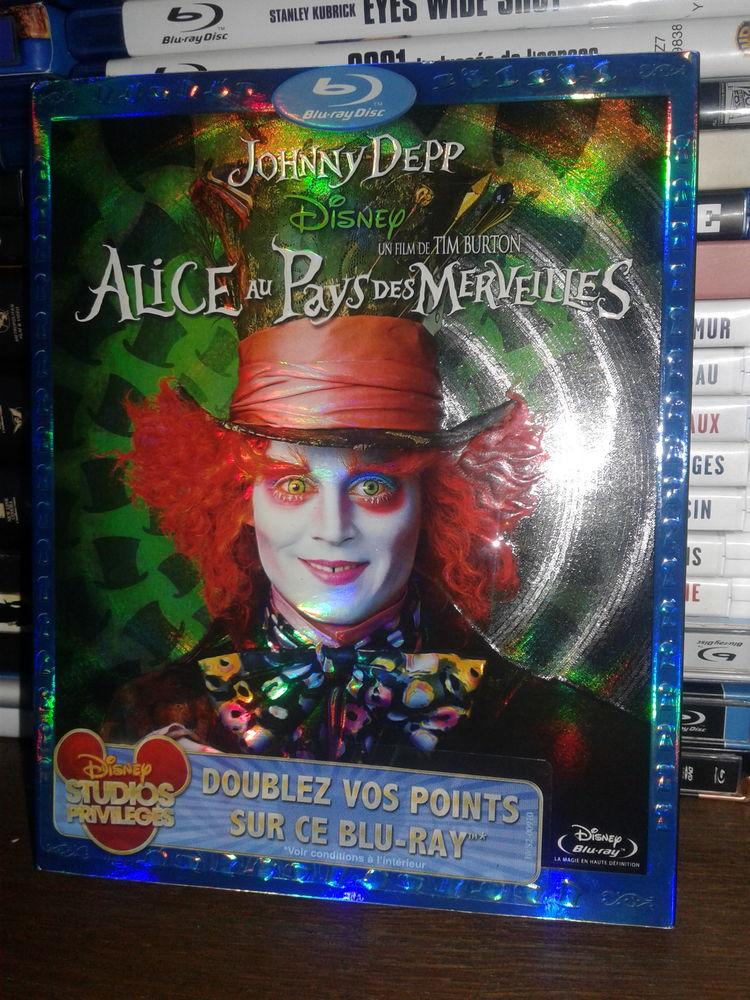 BLU RAY Alice au pays des merveilles ? Tim Burton DVD et blu-ray
