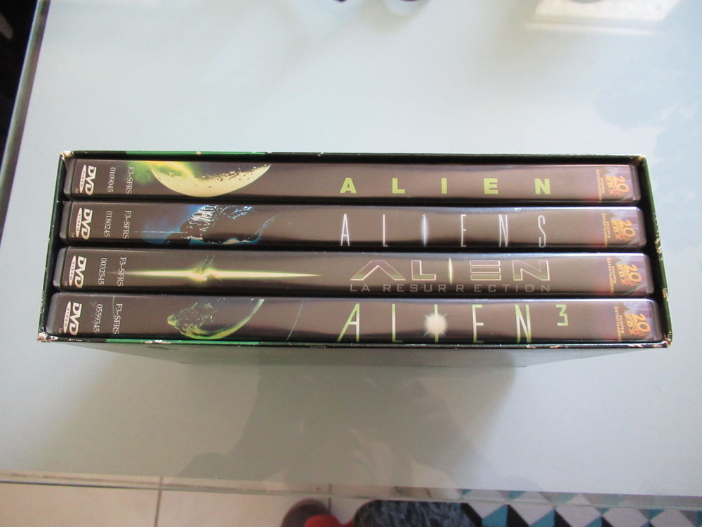 ALIEN DVD et blu-ray
