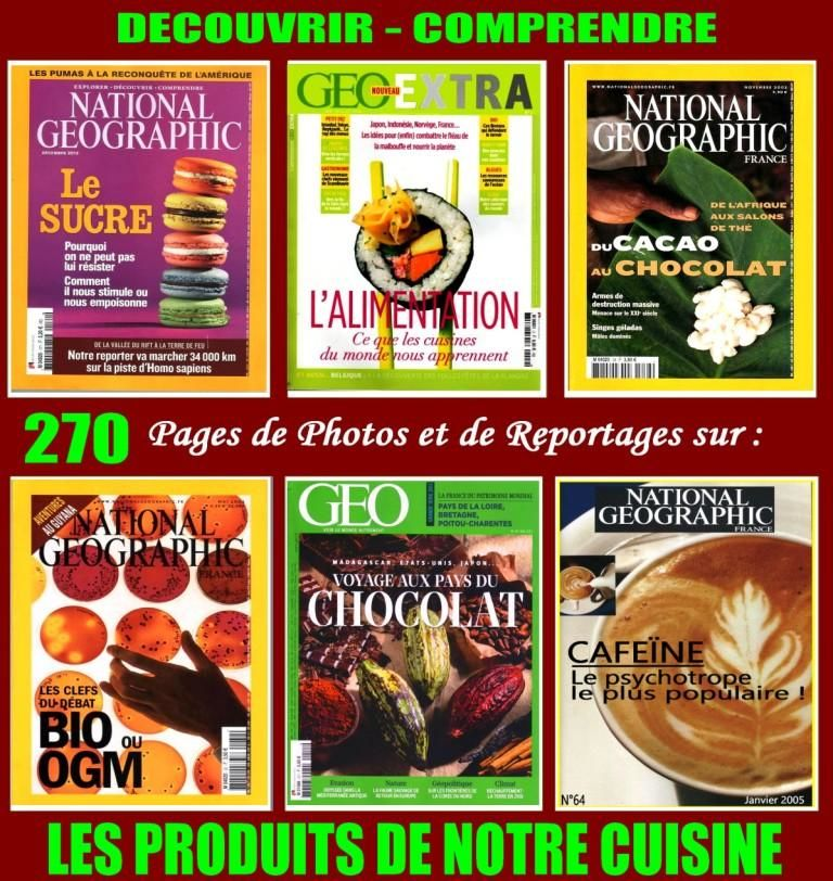 ALIMENTATION - géo - BIO ou OGM / prixportcompris 18 Nice (06)