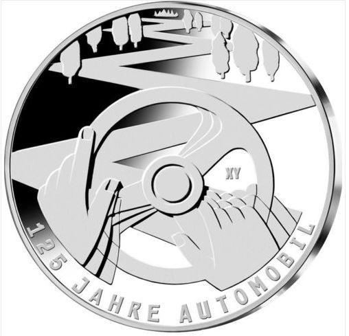 10 € ALLEMAGNE 2011 125 ème ANNIVERSAIRE AUTOMOBILE