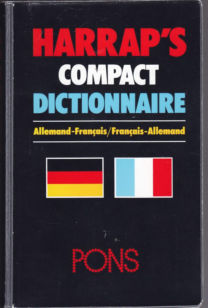 572  Allemand / Français  ou Français Allemand  4 livres   0 Lunel (34)