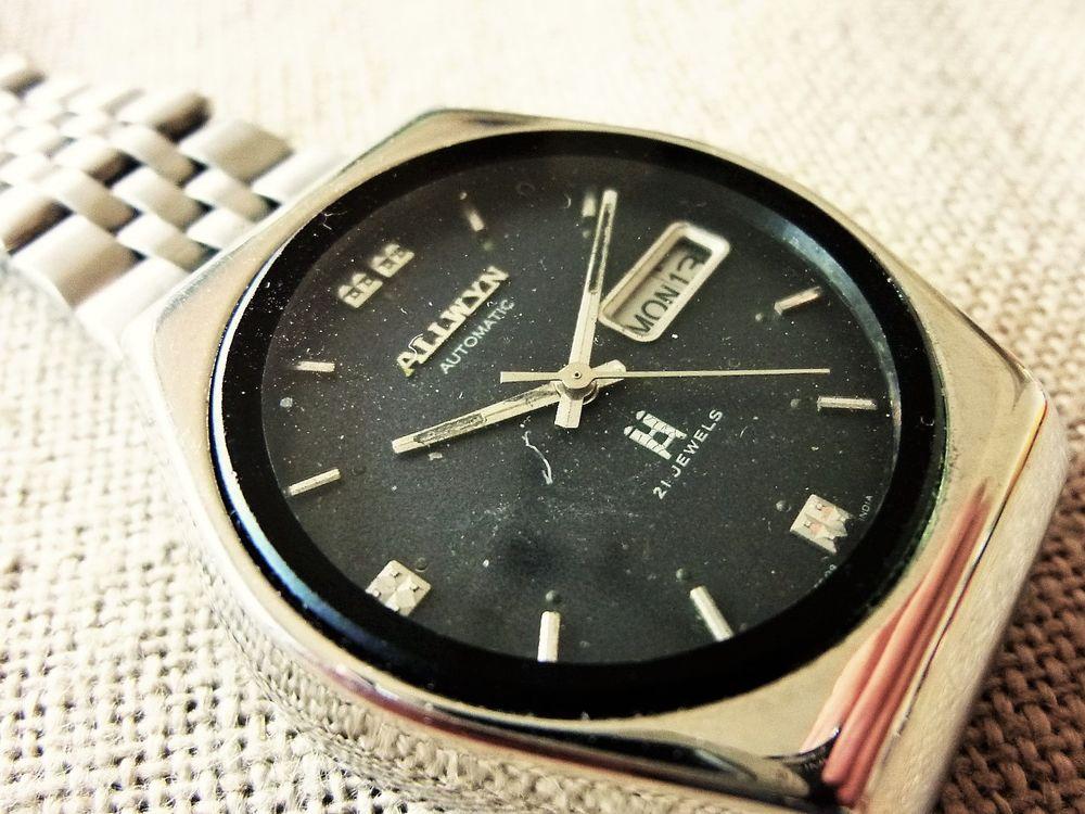 ALLWYN montre homme 21 rubis automatique 1970 ALL0007 135 Metz (57)