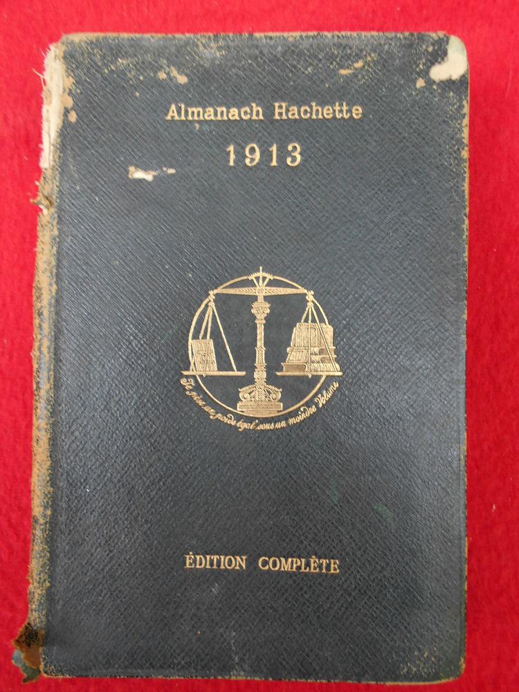 ALMANACH HACHETTE 1913 4 Dammarie-les-Lys (77)