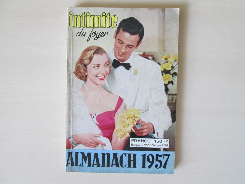 Almanach Intimité du foyer 1957 10 Béthencourt-sur-Mer (80)